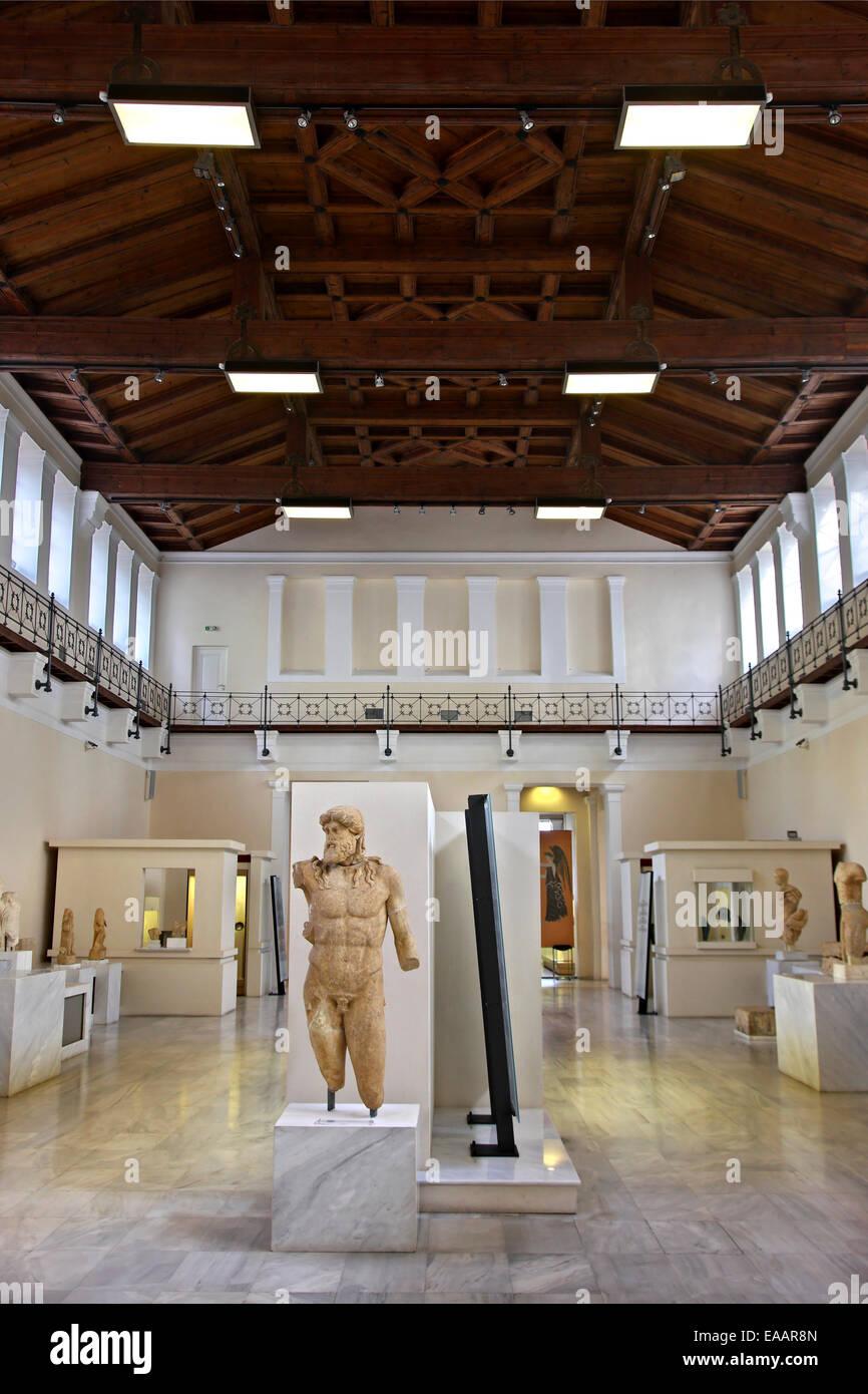 Museo De La Historia De Los Antiguos Juegos Olimpicos Antiguo El