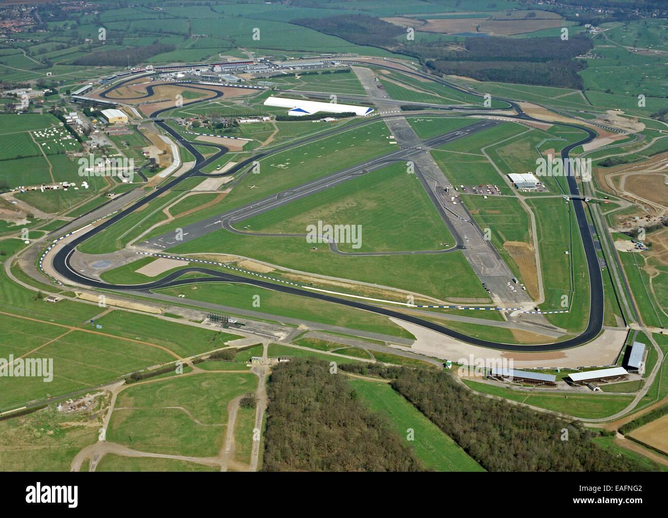 Circuito De Silverstone : Vista aérea del circuito de silverstone en northamptonshire reino