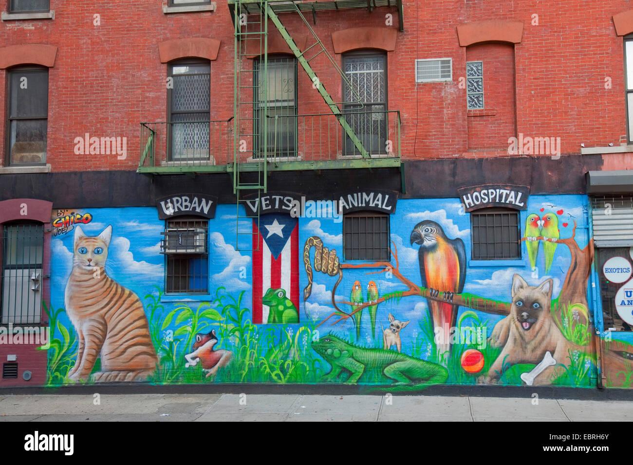 Graffiti En La Pared De La Casa Usa East Village La Ciudad De - Graffitis-en-casa