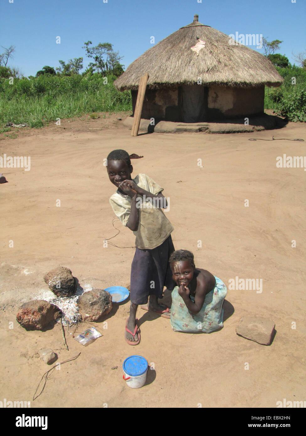 Campamento para personas desplazadas internamente en el norte de ...