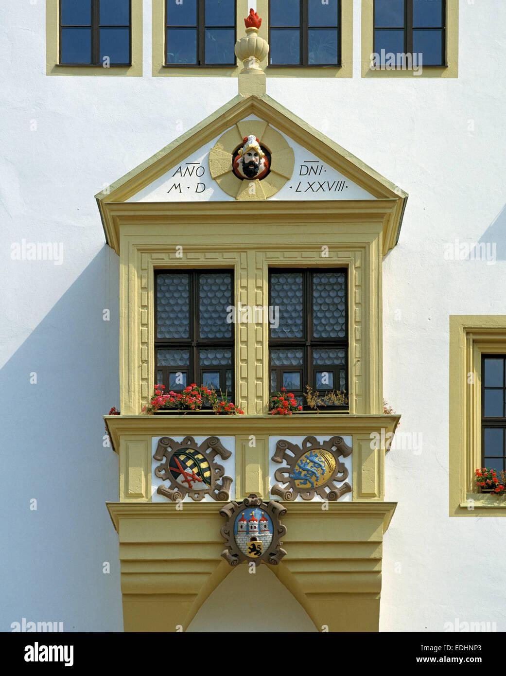 Künstlerisch Erkerfenster Galerie Von Mit Und Wsuperbenschmuck Gaffkopf, En Freiberg, Montes