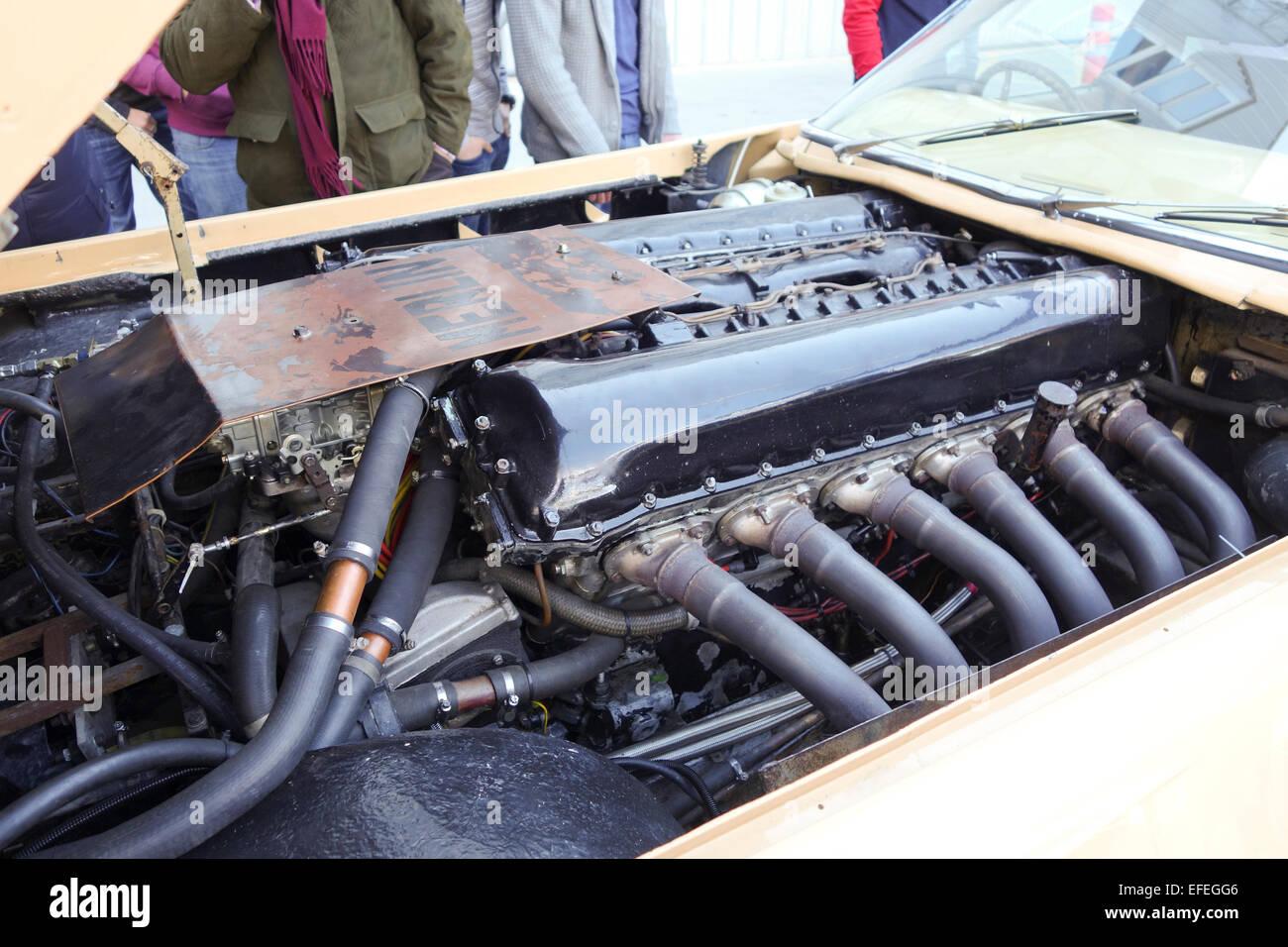 Un 27 Litros Motor Rolls Royce Aeronaves Dentro De Un Raro John Dodd