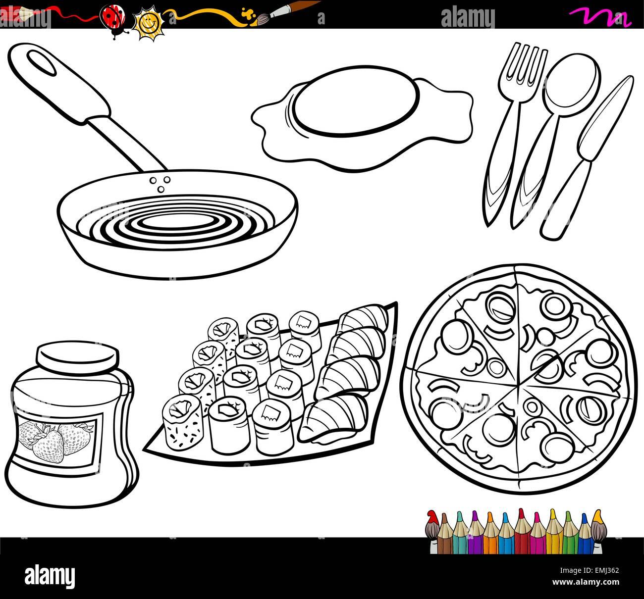 Para Colorear Comida Dibujos Kawaii De Comida Para Colorear Imagui