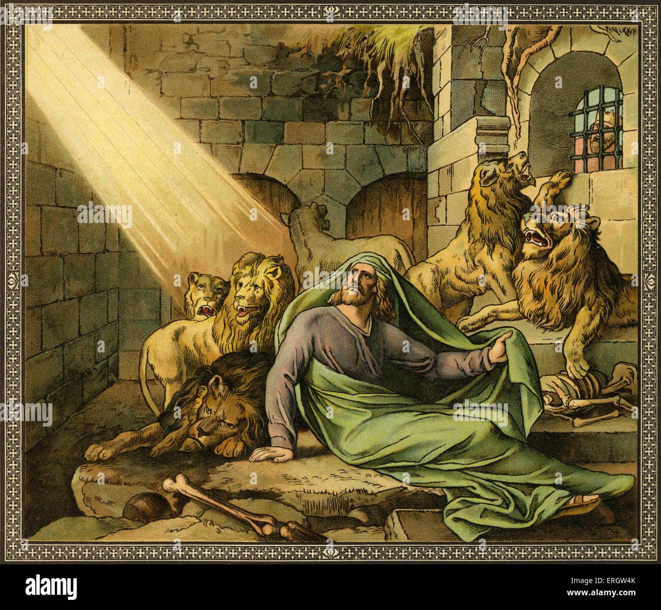 Daniel en el foso de los leones - Daniel estaba entre los judíos ...
