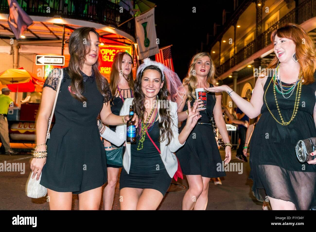 girls New street orleans bourbon