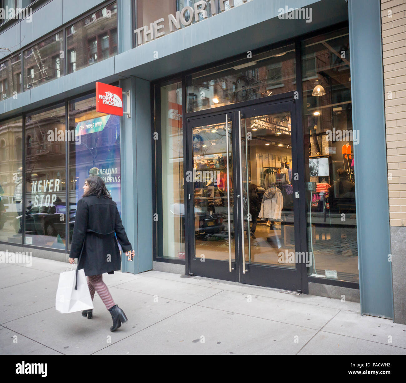 comprar the north face en nueva york