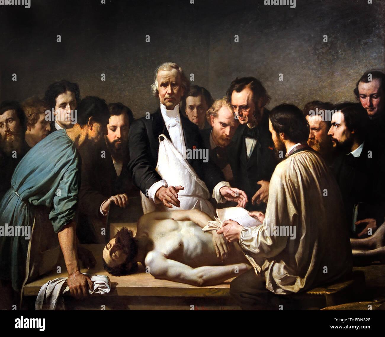 Velpeau llevará a cabo la autopsia de un cadáver en el hospital ...