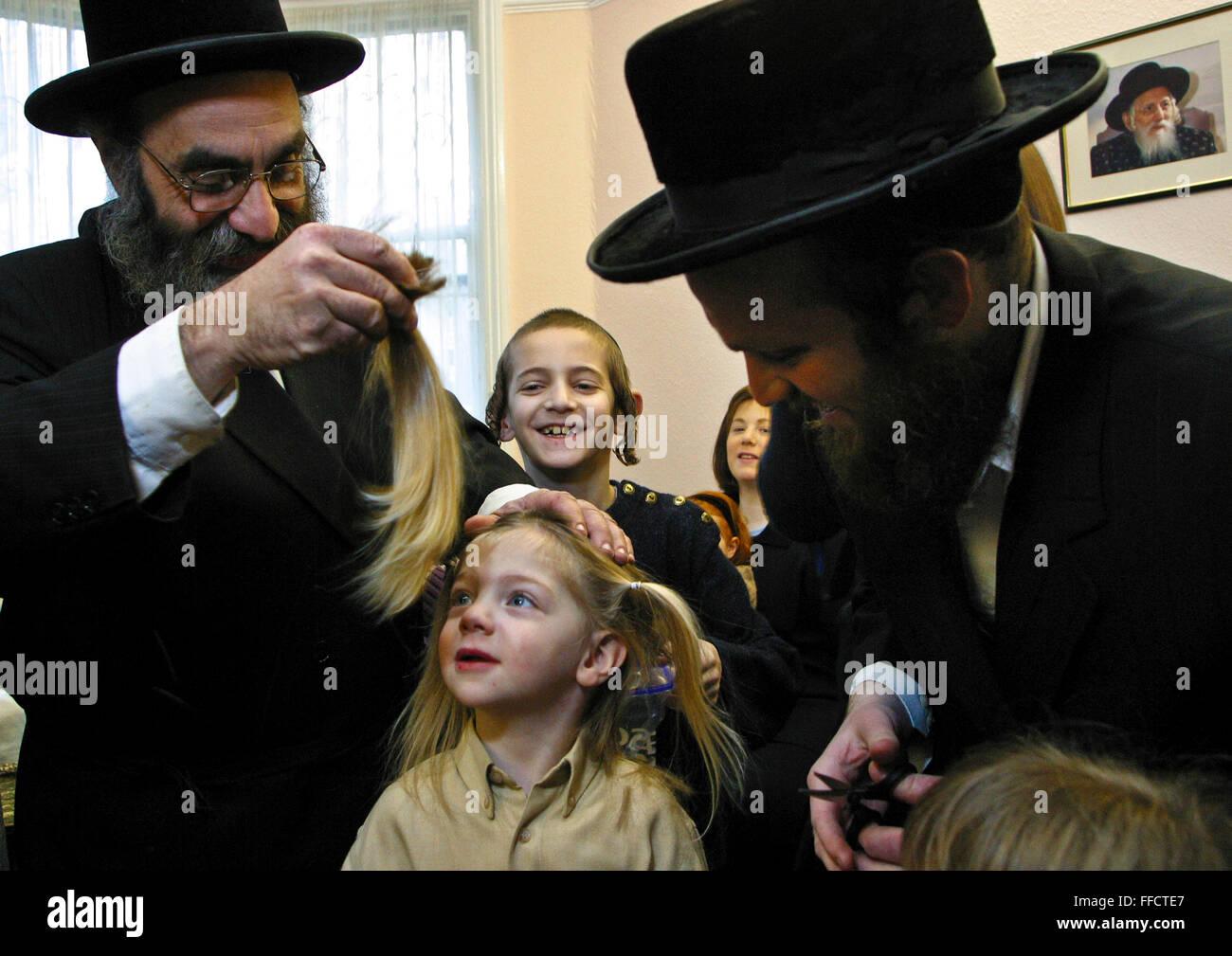Corte de pelo ninos judios