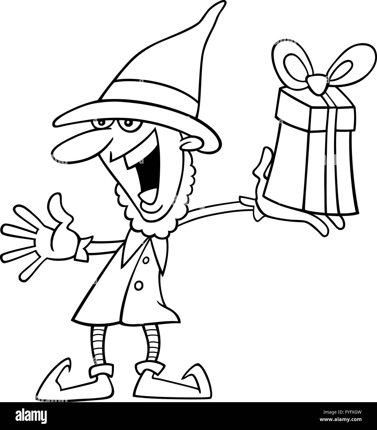 Excepcional Buddy The Elf Para Colorear Ornamento - Dibujos Para ...