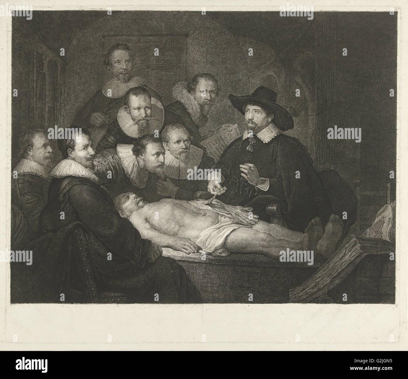 La Lección de Anatomía del Dr. Nicolaes Tulp, Johannes Pieter de ...