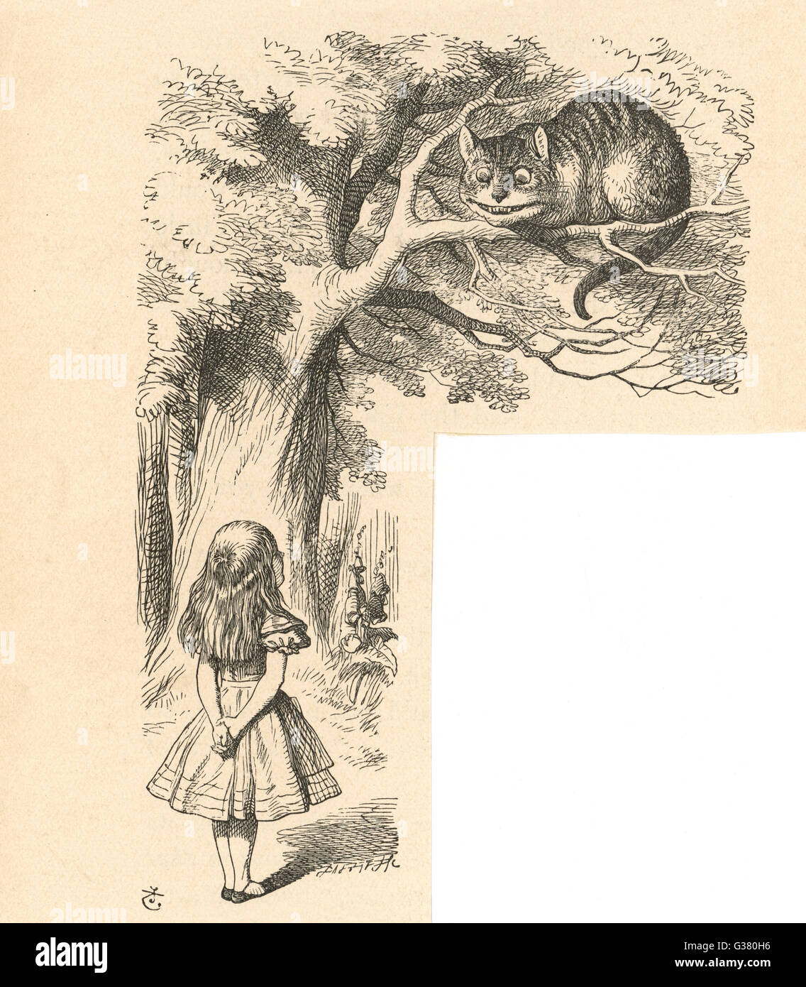 Cheshire Cat Alice Imágenes De Stock & Cheshire Cat Alice Fotos De ...