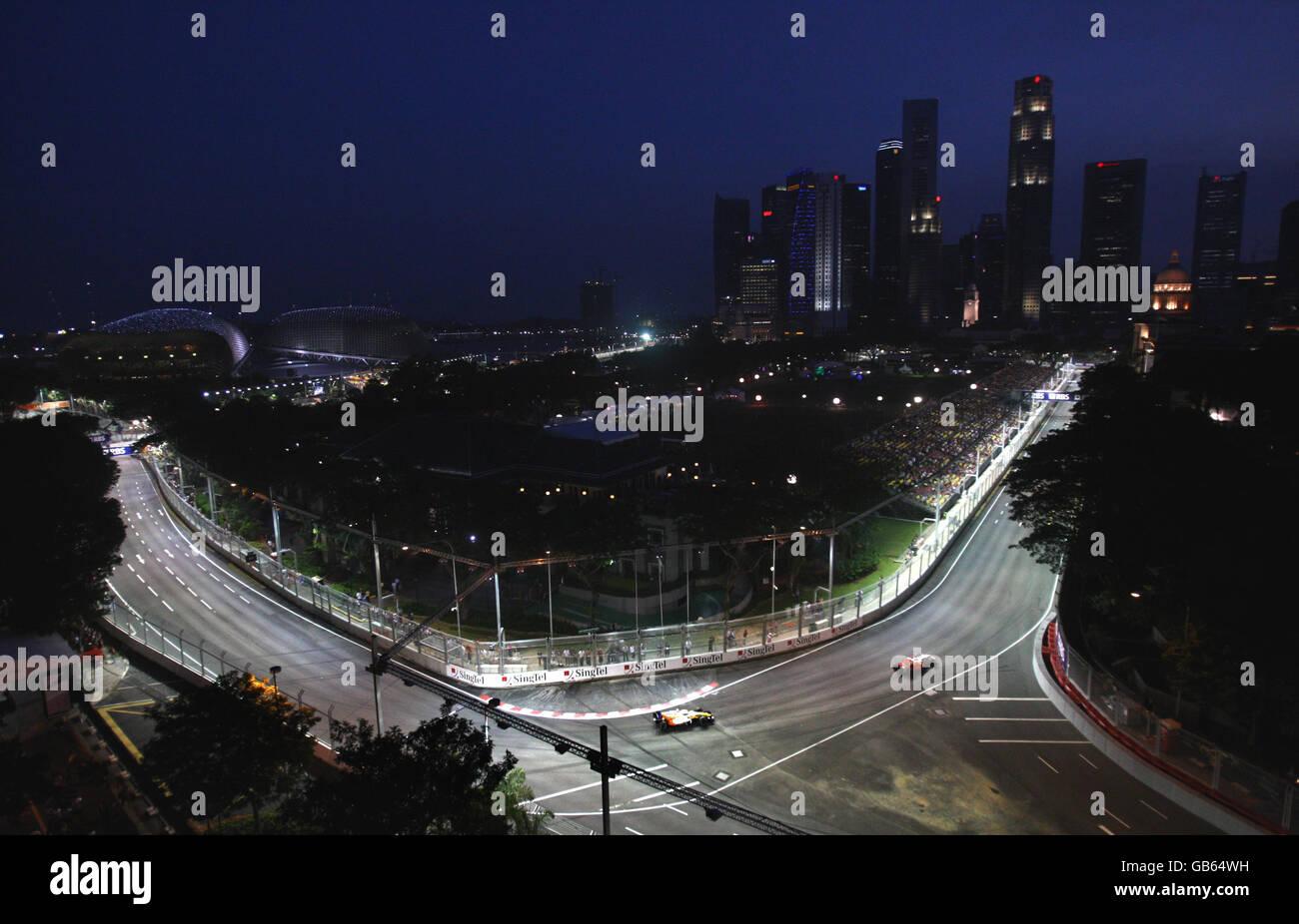 Circuito Singapur : Automovilismo fórmula 1 singtel gran premio de singapur