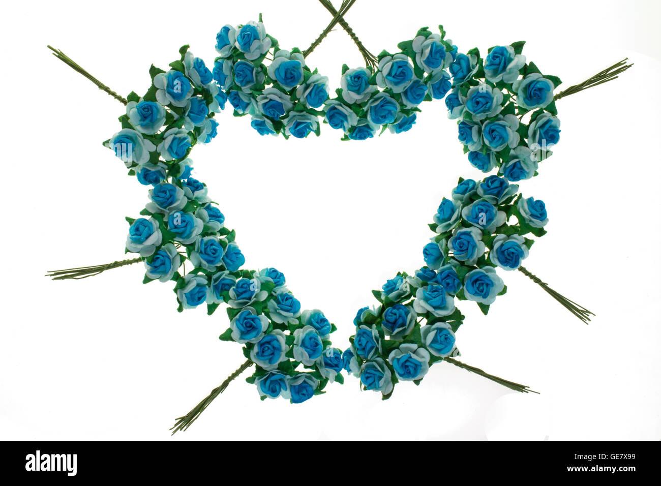 Primavera De Ramas Floridas Flores Azules Sin Hojas Flores