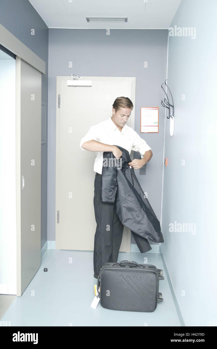 hotel el maleta tira Las del chaqueta habitaciones hombre Awqz64P
