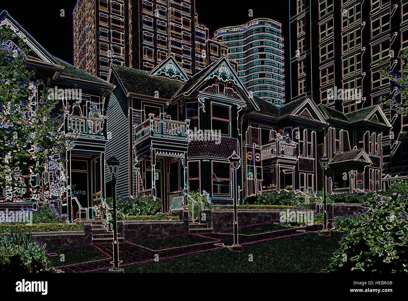 Patrimonio casas y edificios gigantescos - imágenes manipuladas ...