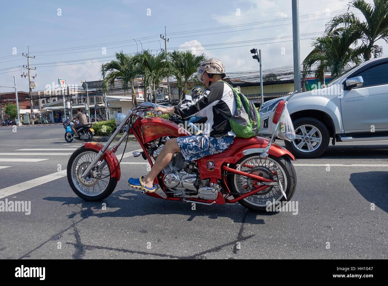 Caballo de motociclistas Harley Davidson personalizada motocicleta ...