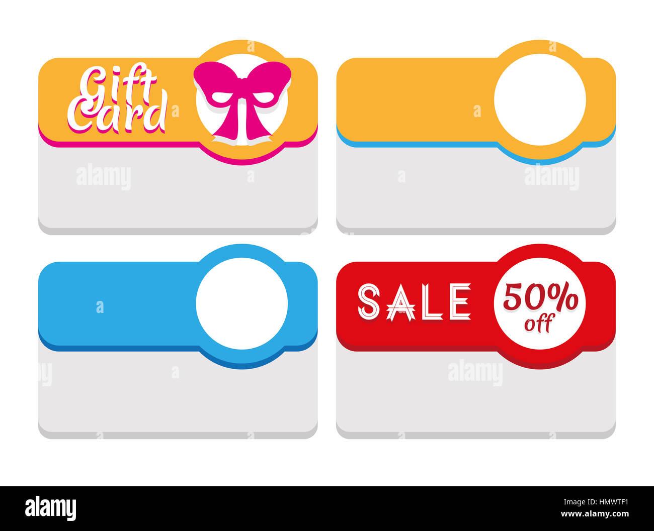 Plantilla para etiquetas, cupones y tarjetas de visita. Posible uso ...