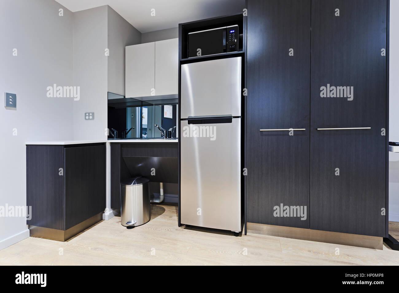 En la esquina cocina elegante y moderno apartamento a estrenar con ...
