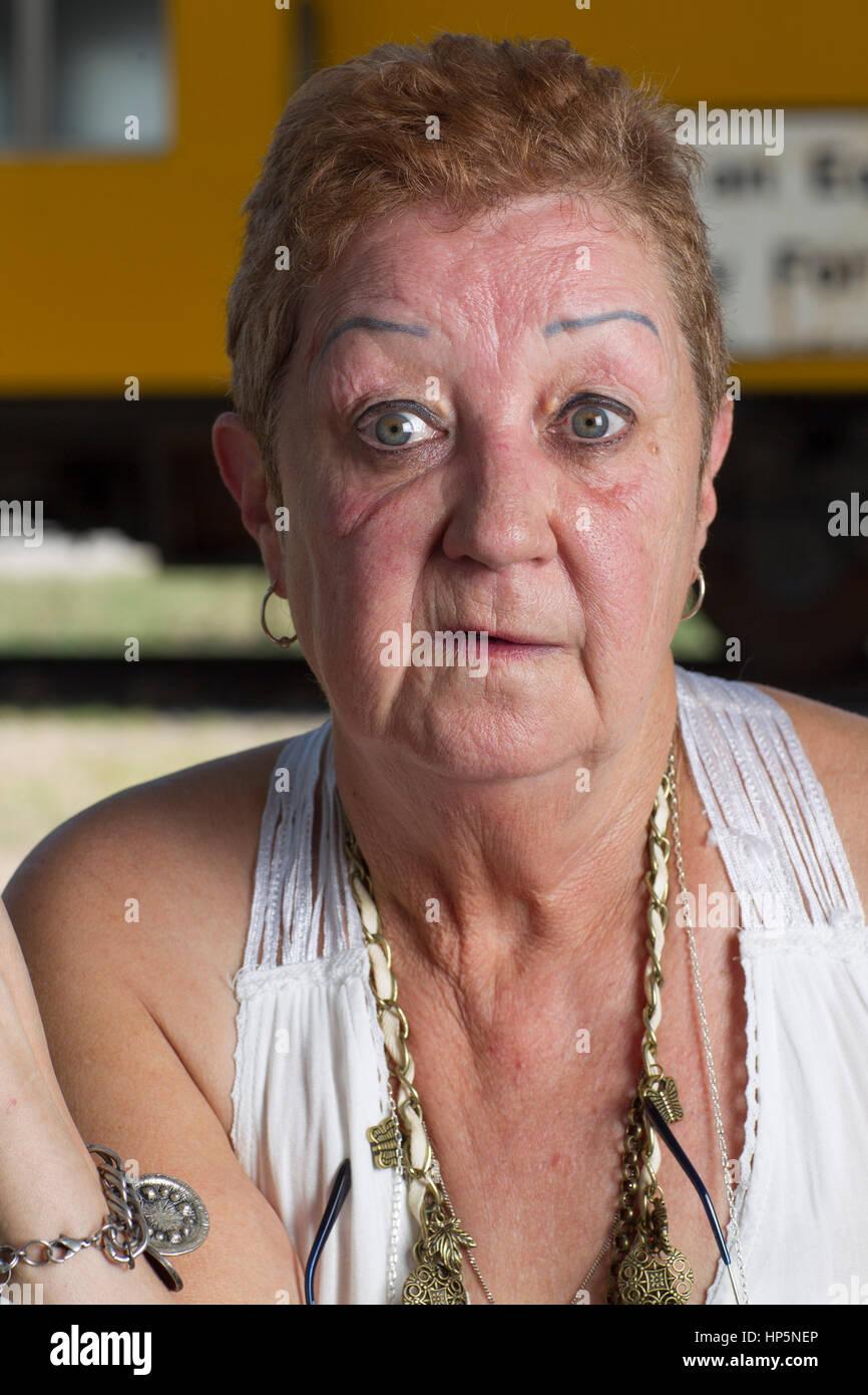 Pic: Archivo de Smithville, Texas, EE.UU. El 15 de julio de 2011. Norma McCorvey, la demandante anónimo conocido Foto de stock
