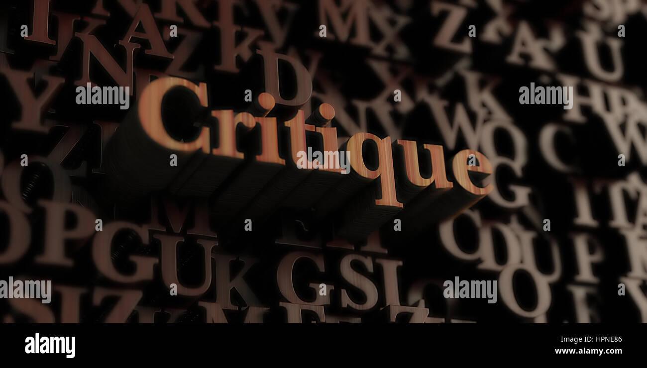 Critique Imágenes De Stock & Critique Fotos De Stock - Alamy