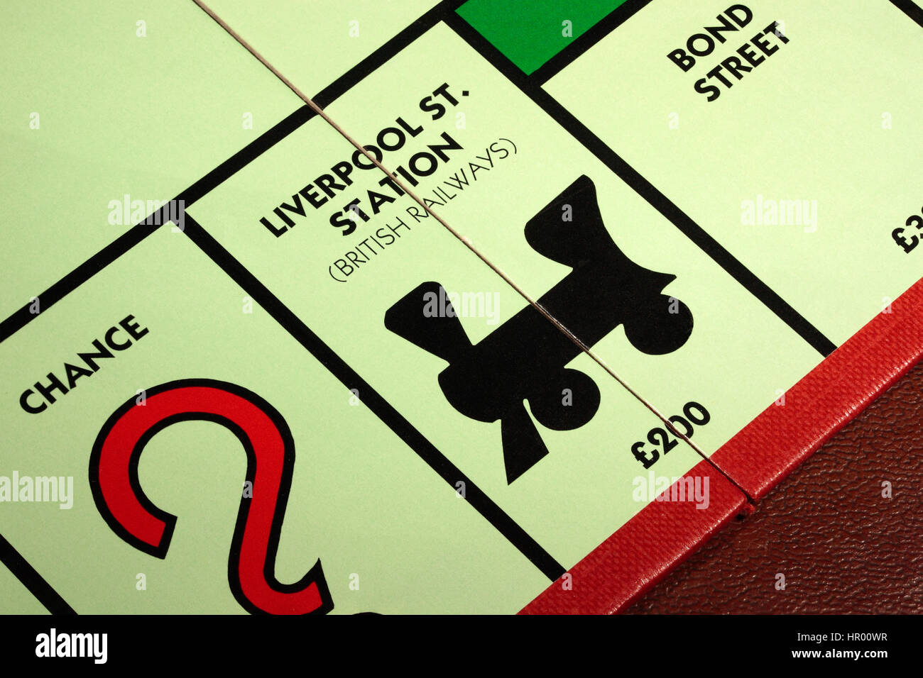 Juego De Mesa Monopolio Liverpool St Estacion De Ferrocarriles