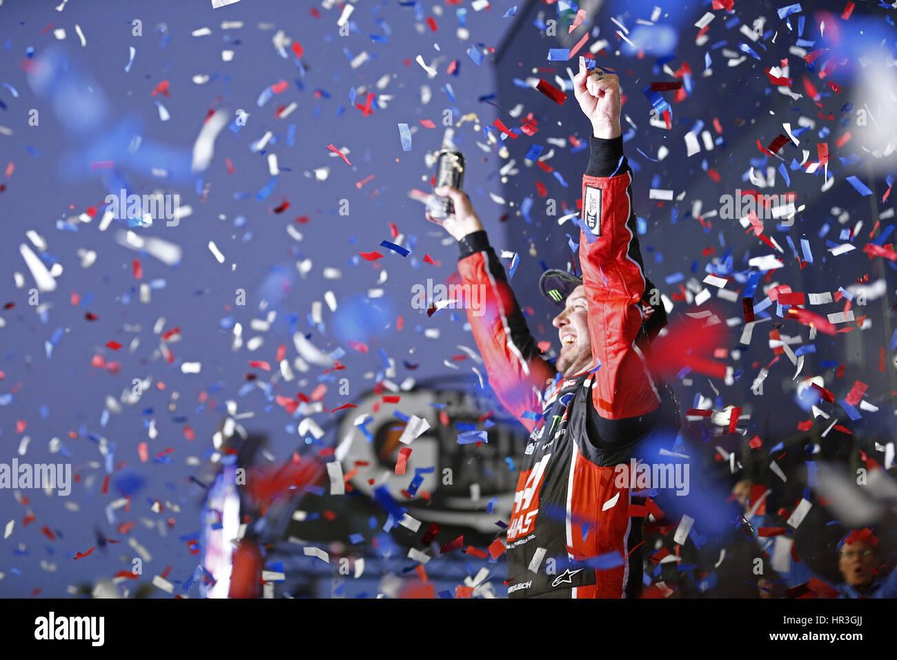 Daytona Beach, Florida, Estados Unidos. 26 Feb, 2017. Febrero 26, 2017 - Daytona Beach, Florida, EE.UU.: Kurt Busch Imagen De Stock