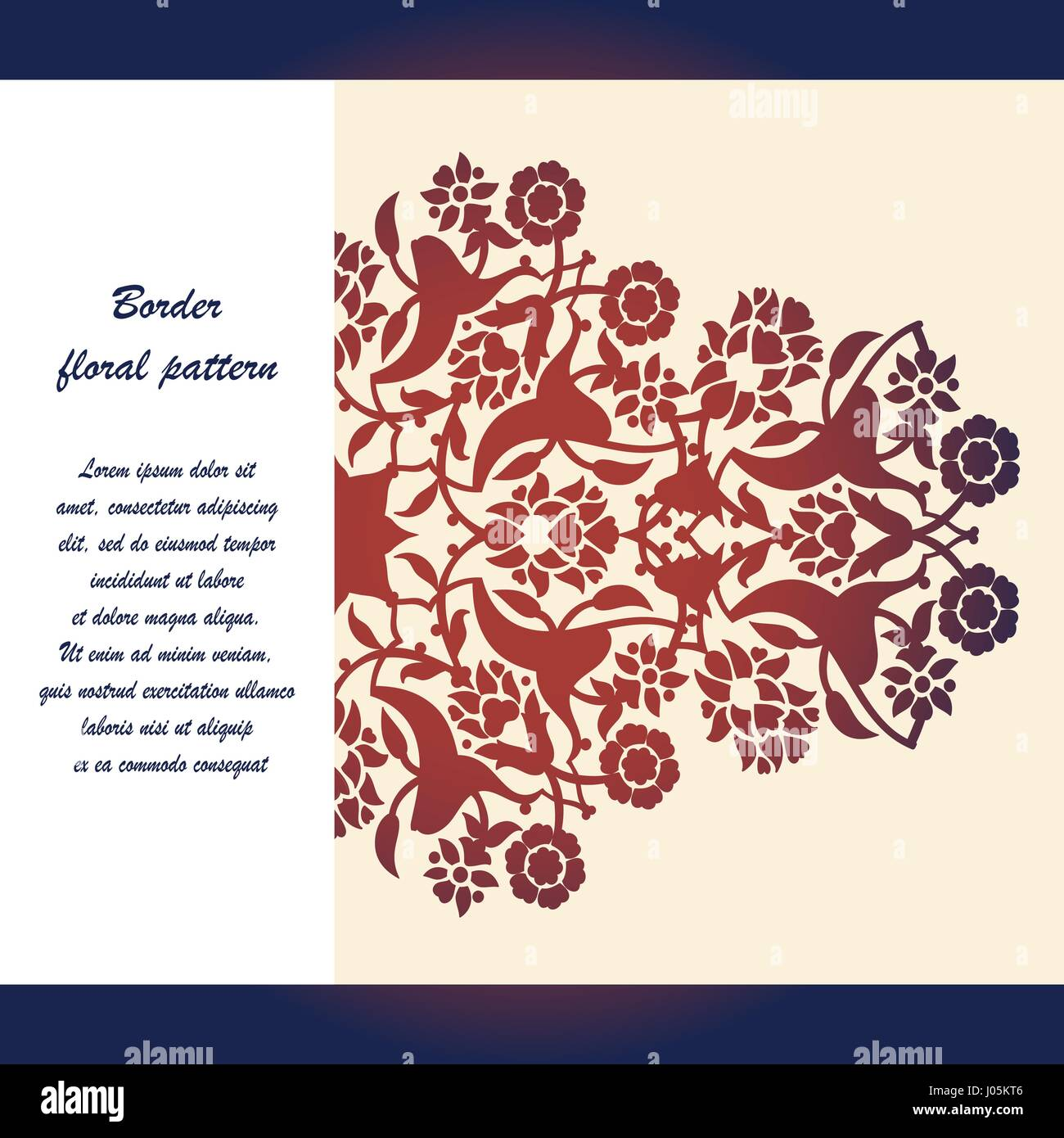 Corte láser arabescos florales ornamento vector patrón. Corte la ...