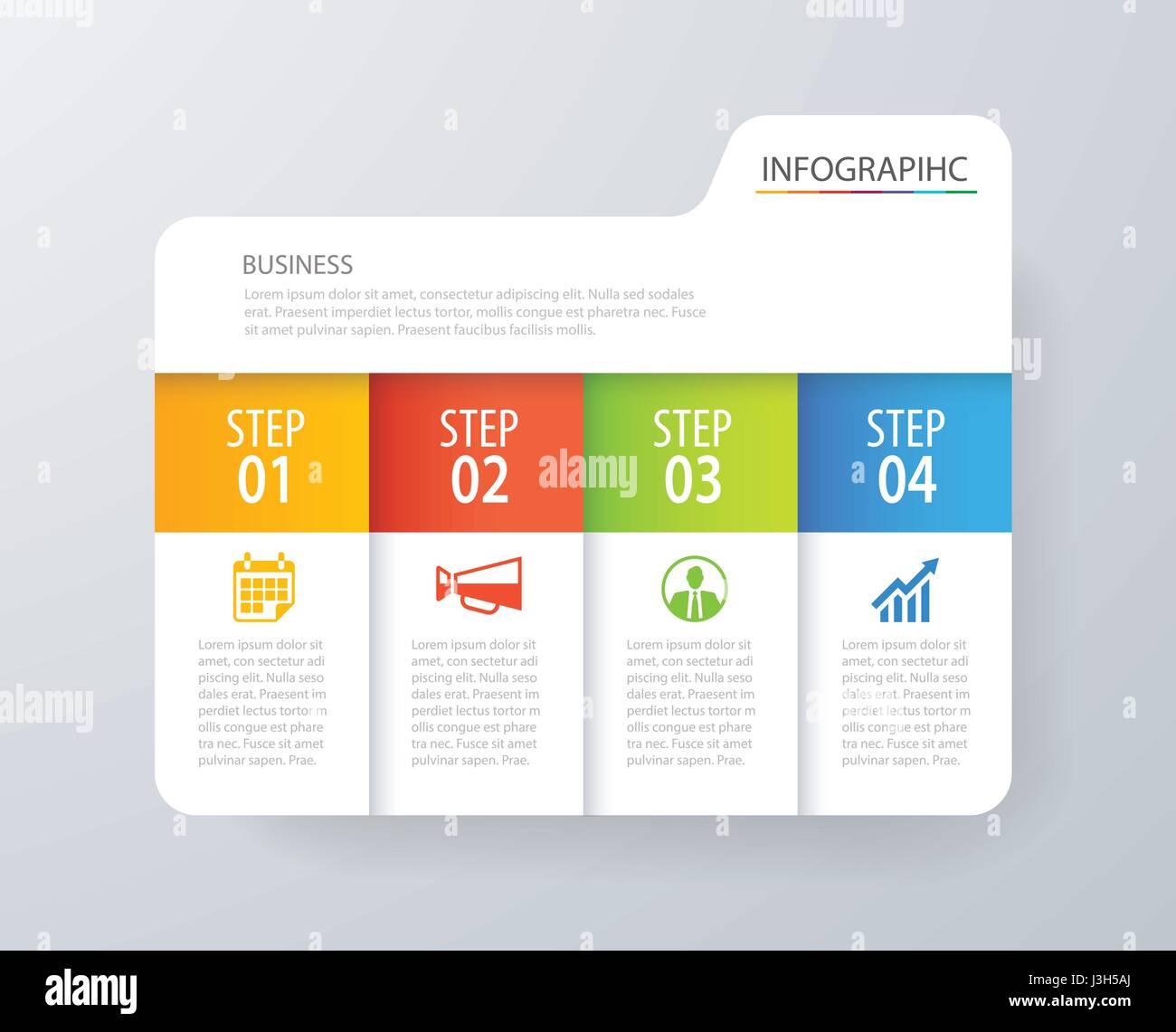 Infografía diseño de índice de tabulación y vector plantilla de ...