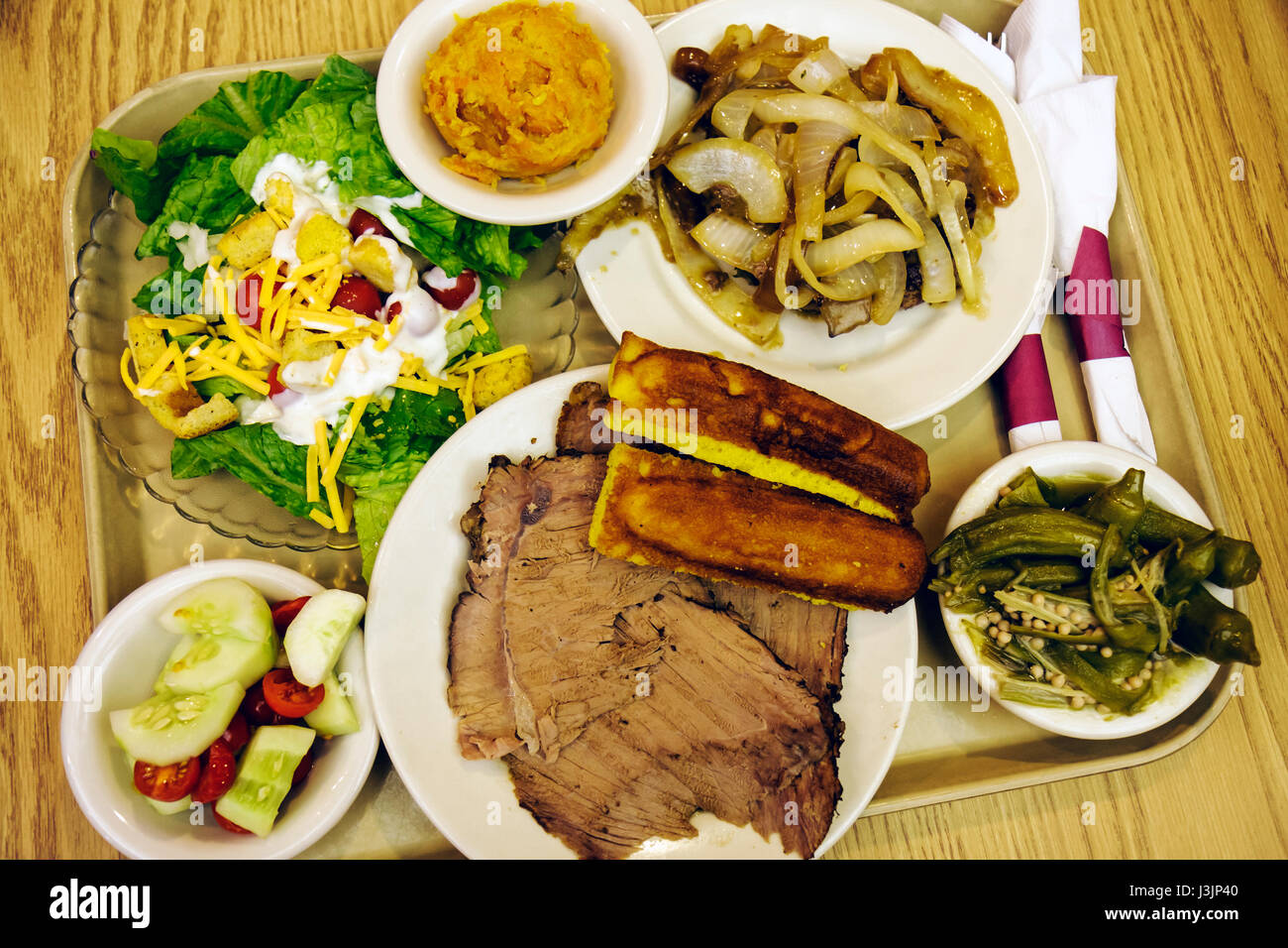 Miami Florida restaurante Piccadilly Cafeteria comida casual placas ...