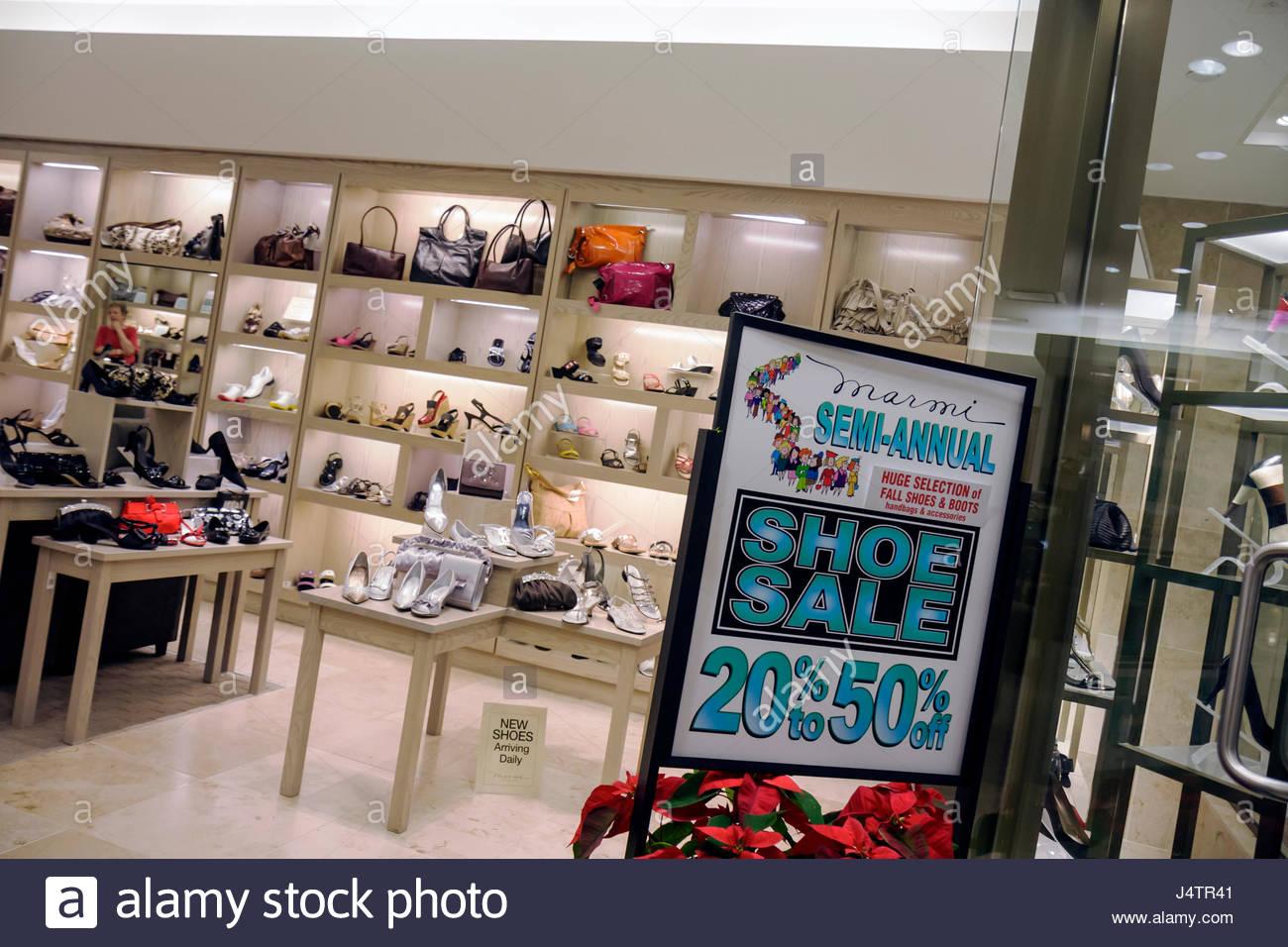 Palm Beach Gardens Los Jardines Florida Mall tienda negocios tiendas  calzado zapatos Marmi entrada vacía firmar los carteles no c 3867c1408f01
