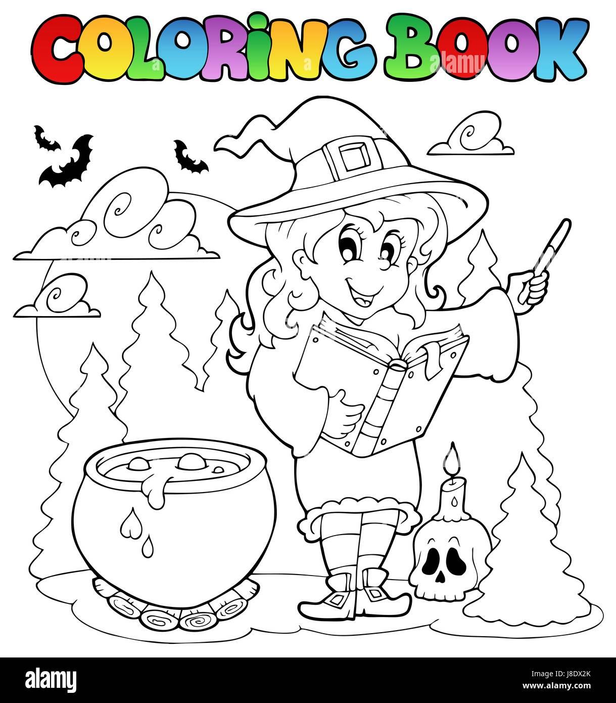 Excelente Libro De Color De Halloween Fotos - Enmarcado Para ...