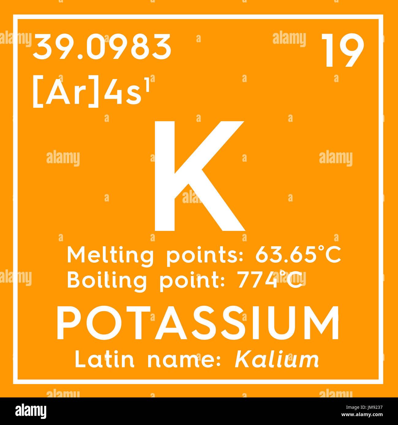 El potasio kalium metales alcalinos elemento qumico de la tabla el potasio kalium metales alcalinos elemento qumico de la tabla peridica de mendeleyev potasio en square cube concepto creativo urtaz Gallery