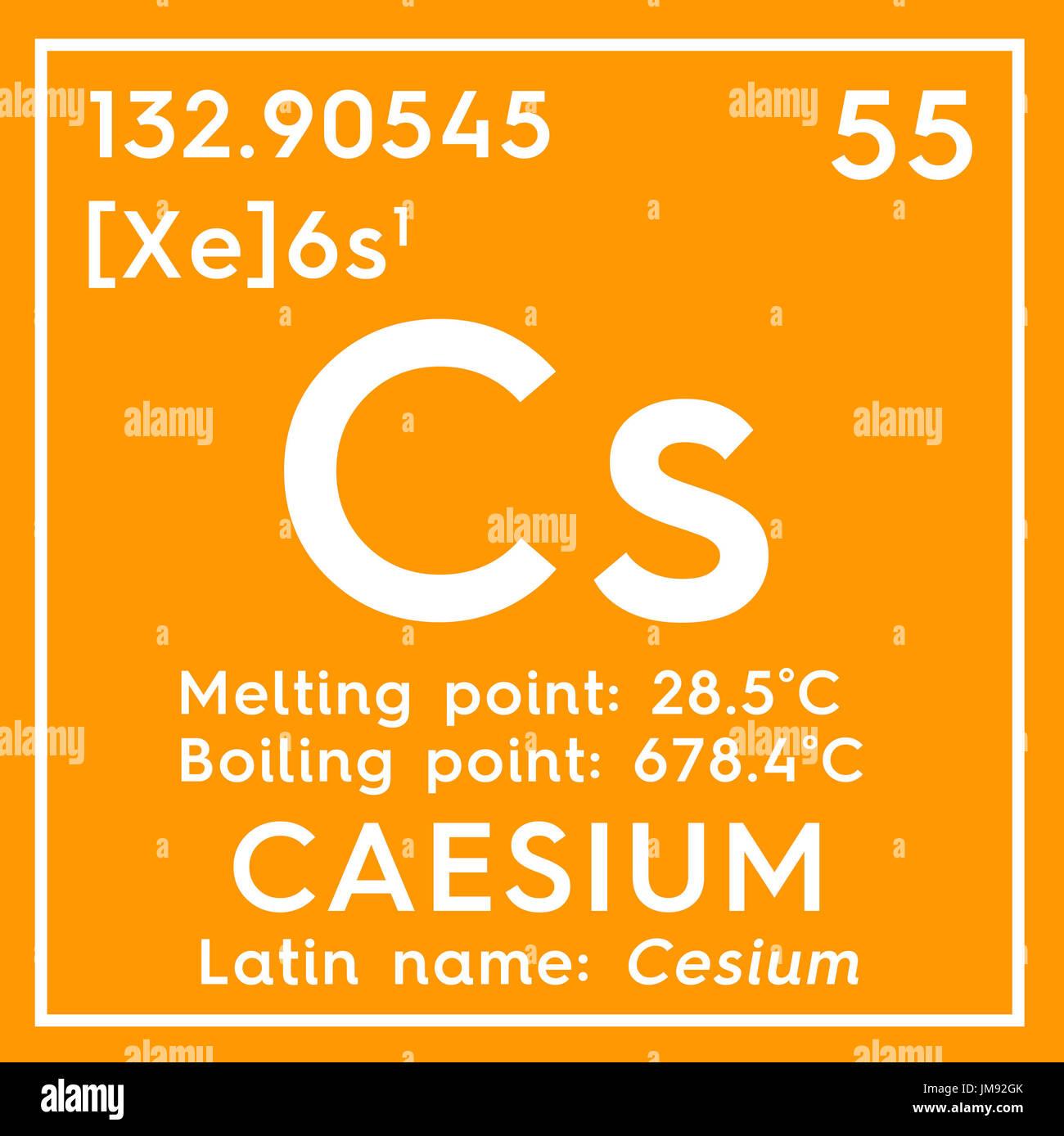 Cesio el cesio metales alcalinos elemento qumico de la tabla metales alcalinos elemento qumico de la tabla peridica de mendeleyev cesio en square cube concepto creativo urtaz Gallery