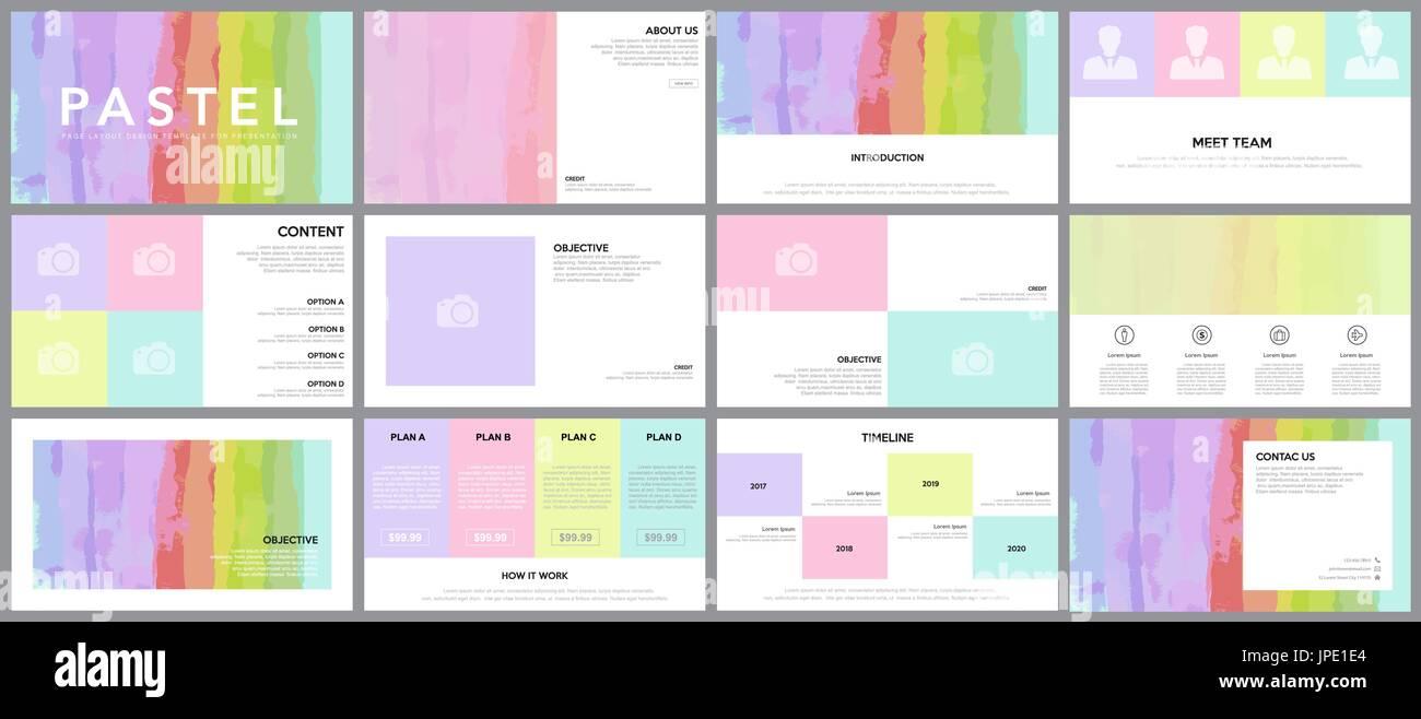 Elemento de diseño de infografía para presentaciones plantillas ...