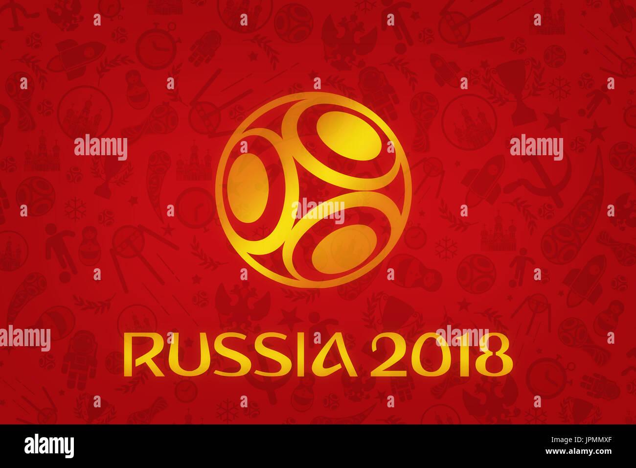 Copa Mundial De Fútbol De 2018 Wallpaper Torneo De Fútbol Mundial