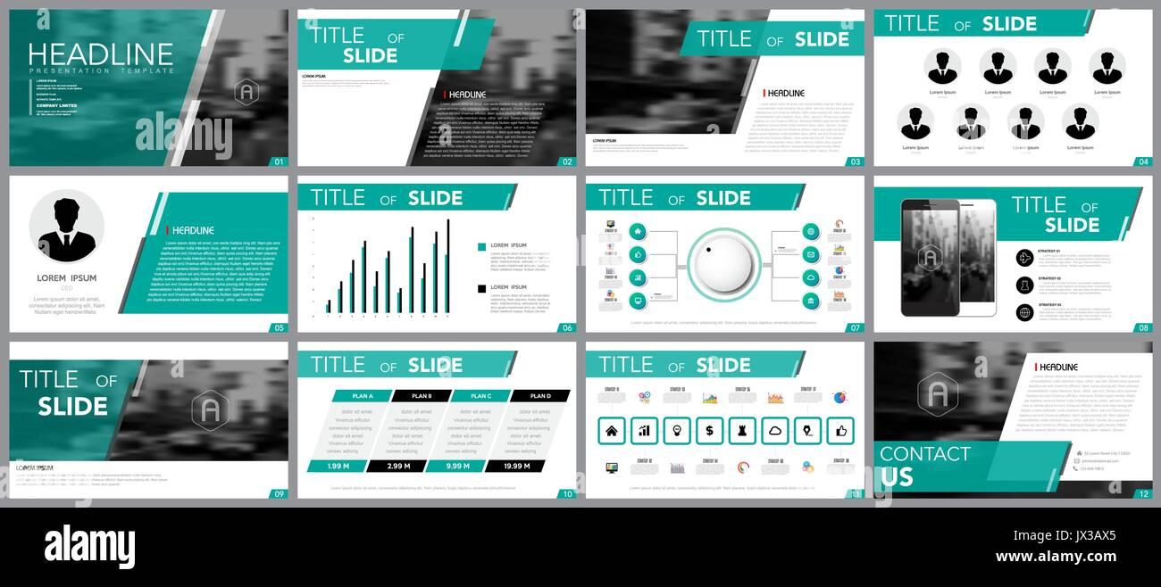 Elemento de diseño de infografía para plantillas de presentación.Uso ...