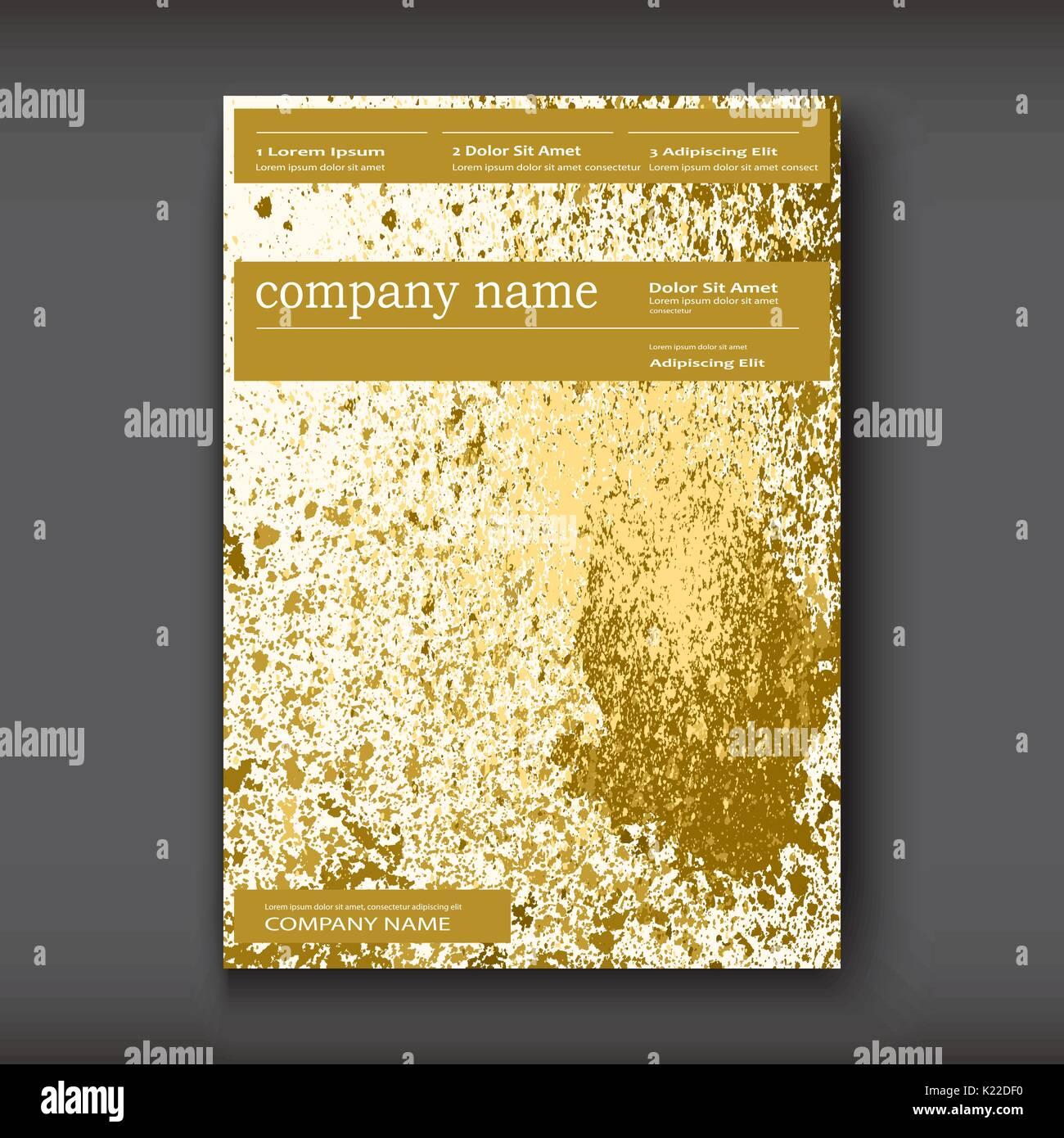 Pintura de oro splash, salpicar explosión glitter marco artístico ...