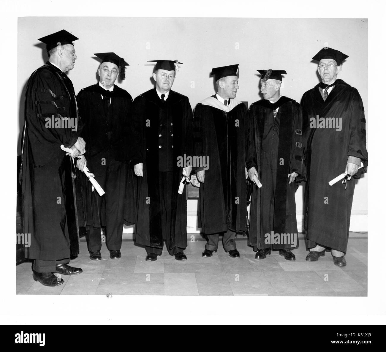 Día de conmemoración en 1951 en la Universidad Johns Hopkins ...