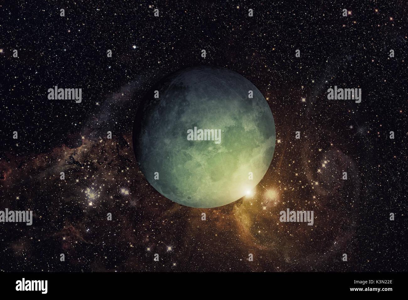 Sistema Solar - Urano. Es el séptimo planeta desde el Sol y el ...