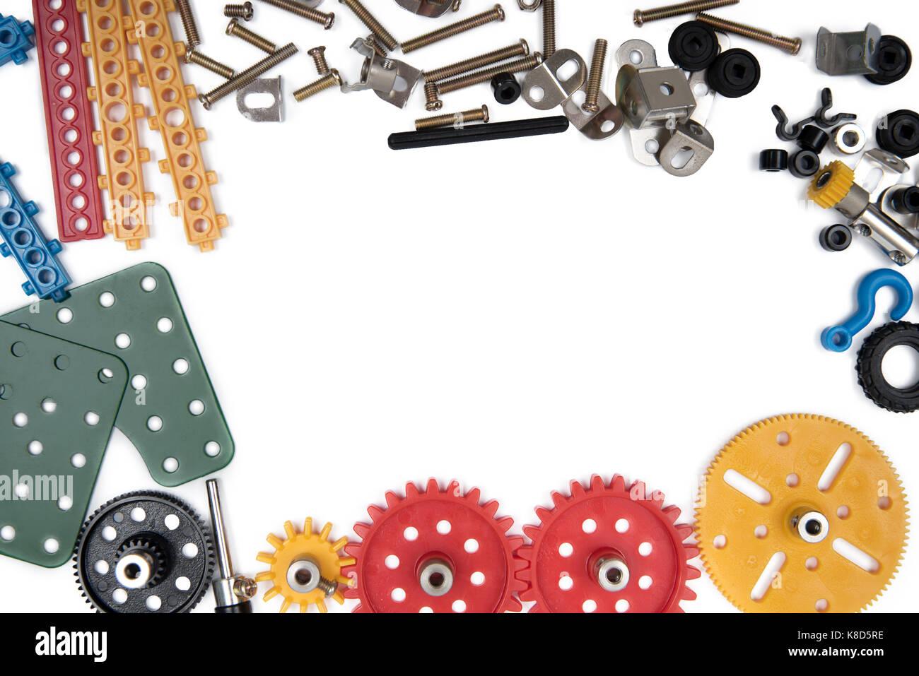 La fabricación de juguetes para niños las herramientas Marco ...