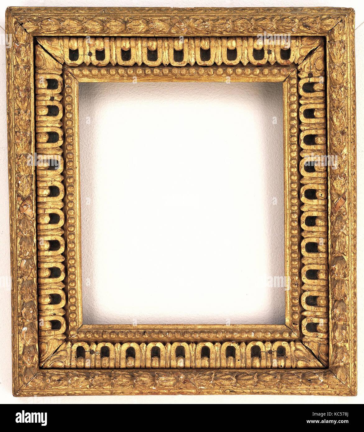 Bastidor cassetta, 1575-80, italiano, Florencia, álamos, total: 19 1 ...