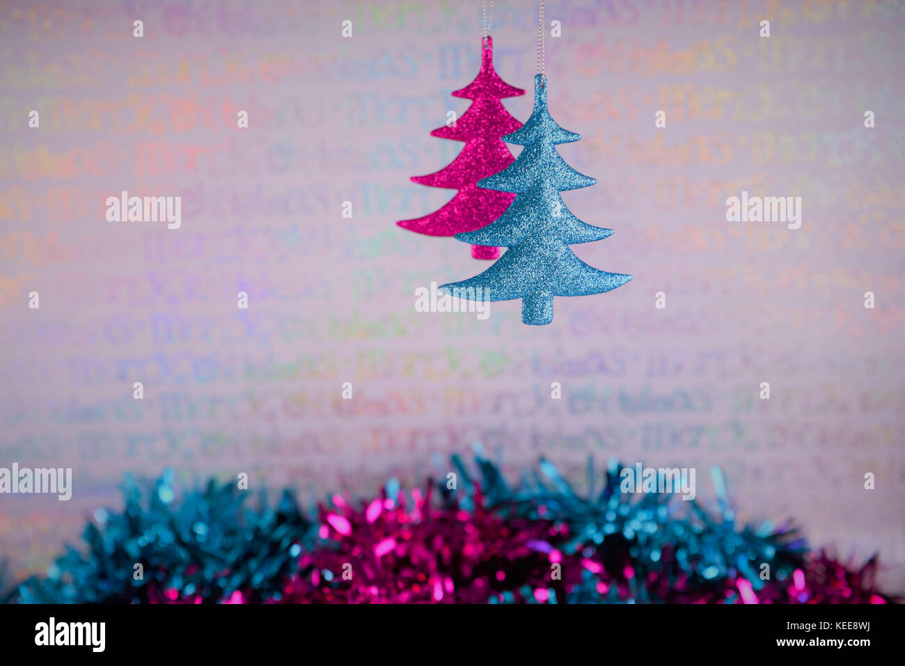 Colorido De Colgar La Fotografia De Navidad Arbol De Navidad - Arboles-de-decoracion