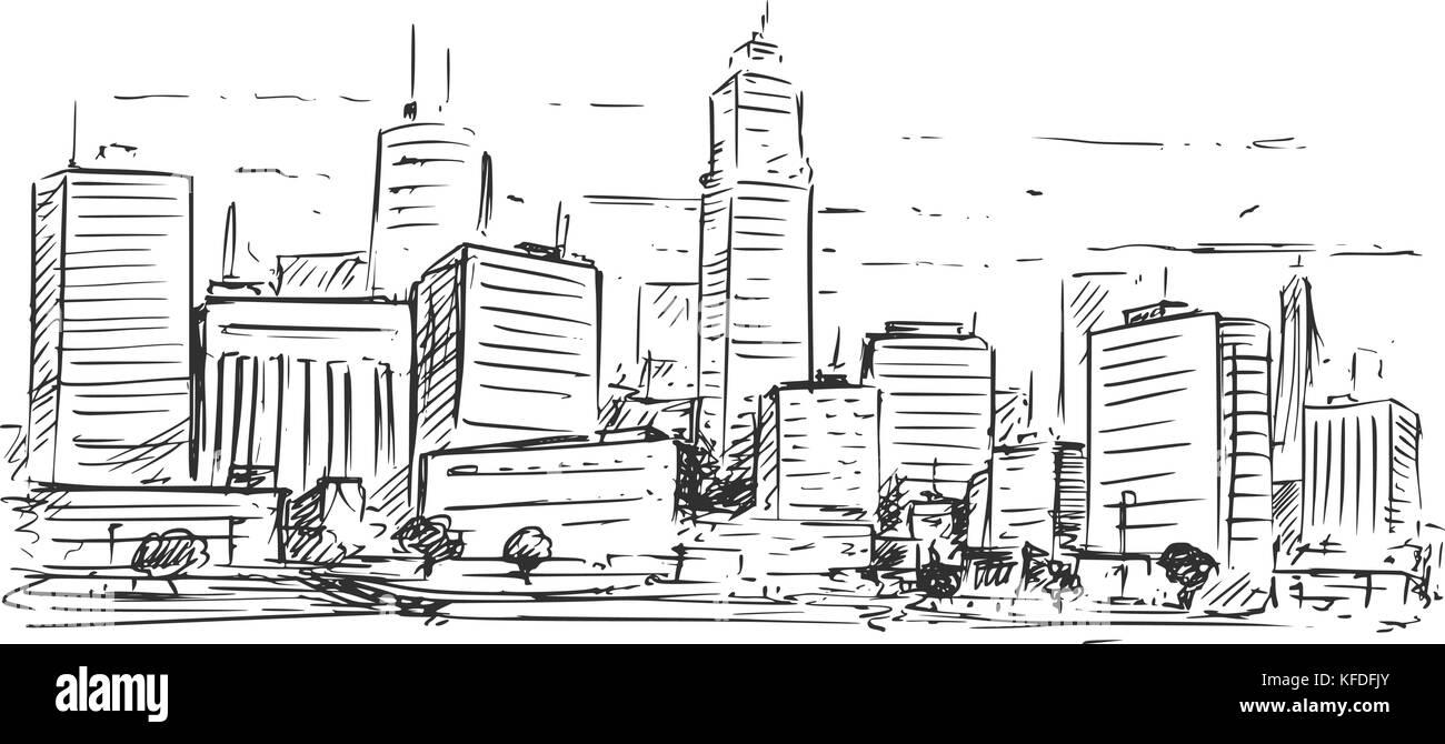 Asombroso Edificio De La Ciudad Para Colorear Ornamento - Dibujos ...