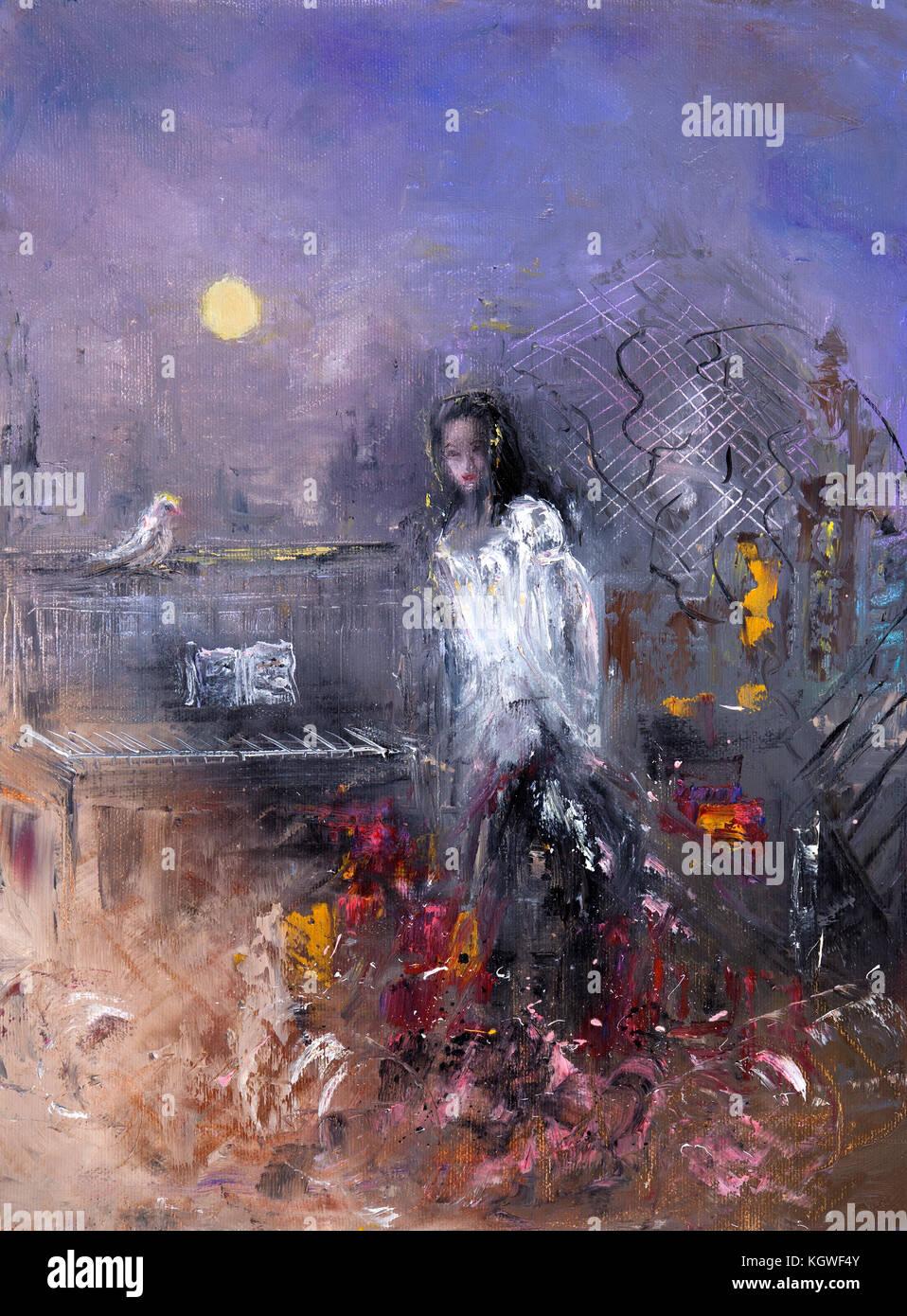 Bildergebnis für mujer pintura abstracta