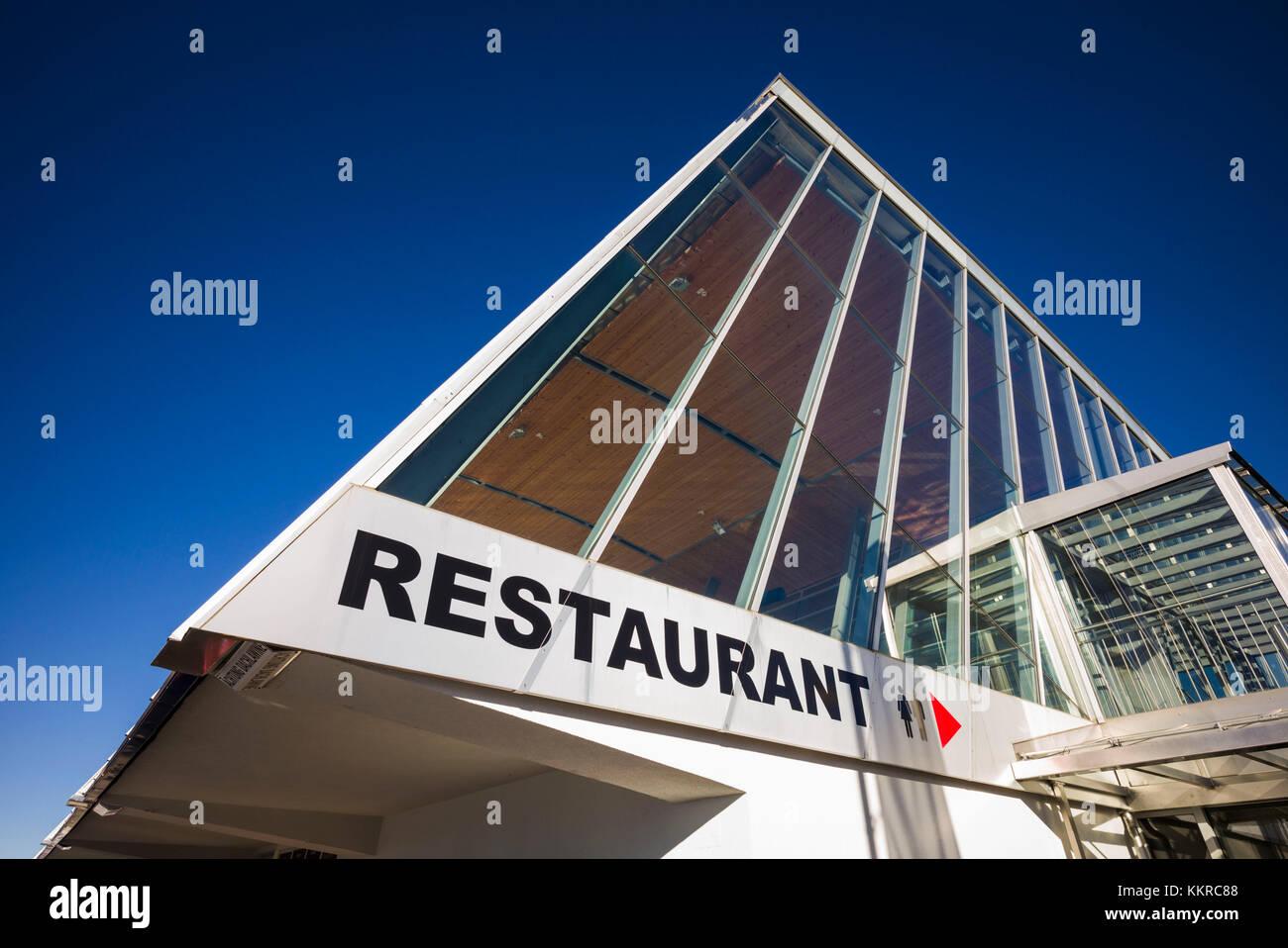 dce99217e8f Austria, Tirol Axamer Lizum, alojamiento Villa de los juegos olímpicos de  invierno de 1964 y 1976, Haus hoadl restaurante exterior, elevación de 2340  metros ...