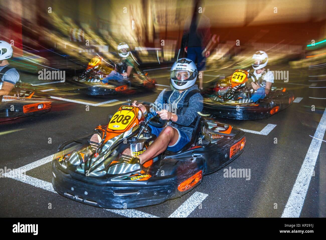 Circuito Karts : Contratada la obra de la pista de karts pontesa por euros