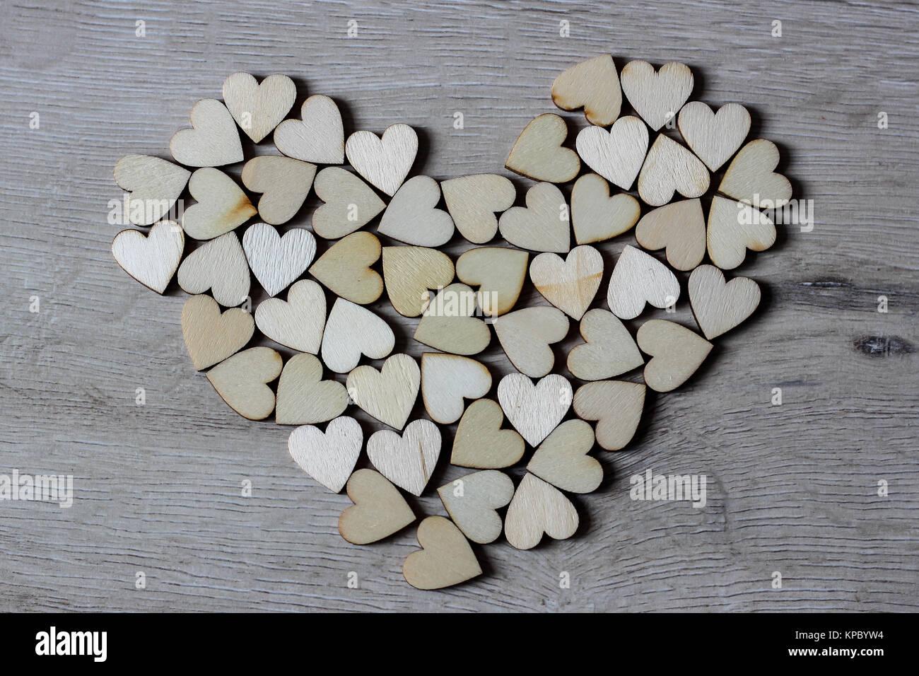 Forma Corazón De árbol Natural Precioso De Madera En Forma De