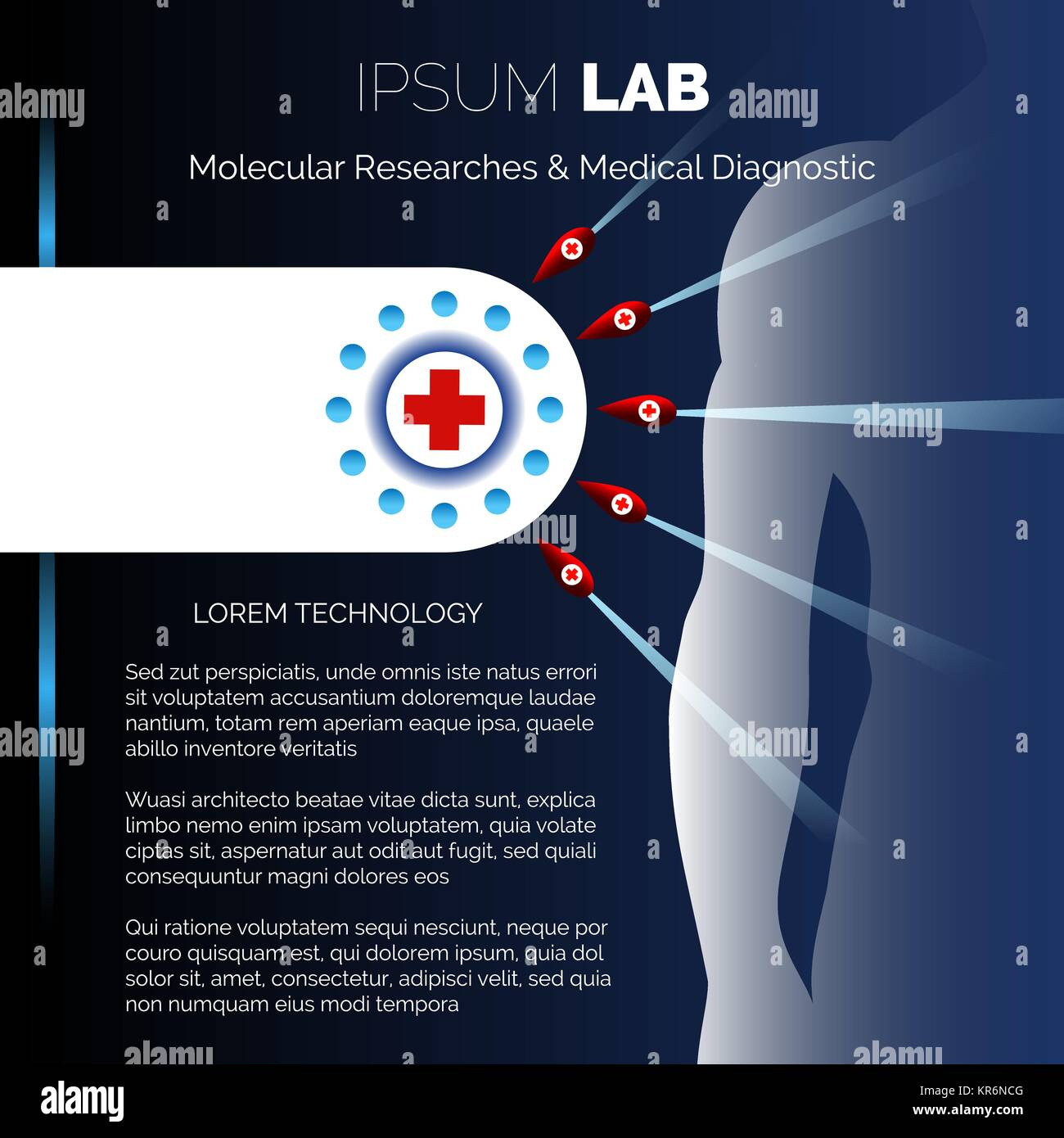 Centro de Investigaciones Médicas de laboratorio o plantilla de ...