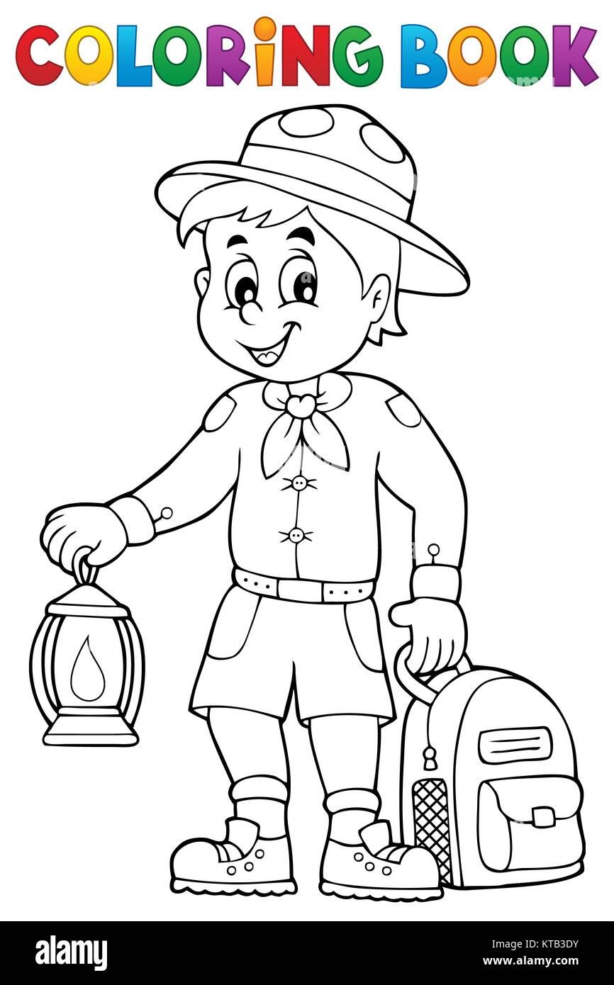 Fantástico Cub Scout Para Colorear Ideas - Dibujos Para Colorear En ...