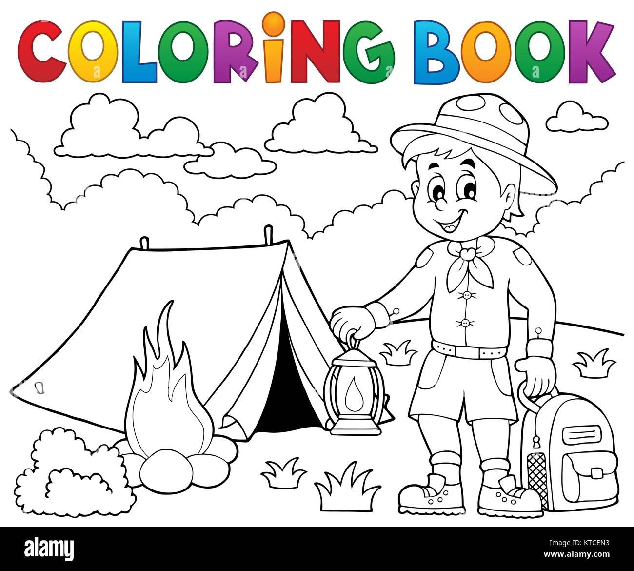 Perfecto Tigre Cub Scout Para Colorear Friso - Dibujos Para Colorear ...